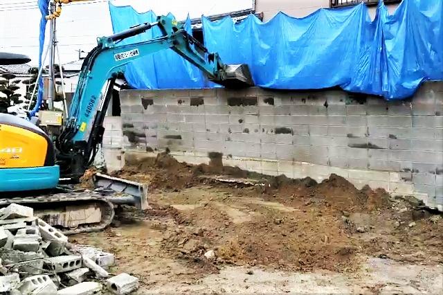 解体工事 福岡 解体 斫り 株式会社朋和 壁解体